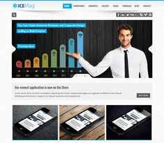 iceMag- Multi Purpose Responsive WordPress Theme | Xtratheme