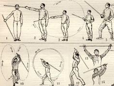 Combattimento con il bastone Canne de combat antica di Craftissimo