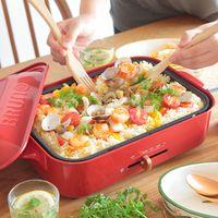 鍋もフライパンも必要なし!手の込んだお料理も、ホットプレートなら簡単に作れる!