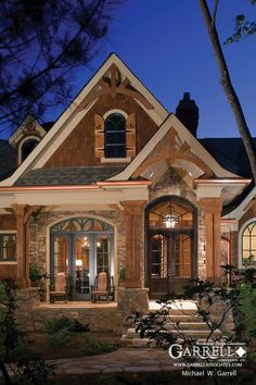 cottage bungalow style homes | ... house plans lake house plans master down mountain house plans ranch: