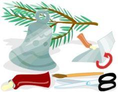Vánoční ozdoby z alobalu
