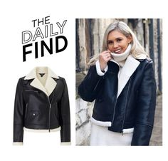"""Daily Find: Miss Selfridge Jacket"" by polyvore-editorial ❤ liked on Polyvore featuring Miss Selfridge and DailyFind"