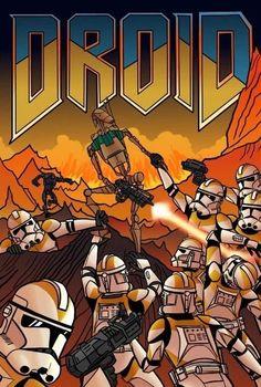 Droid DOOM poster : StarWars