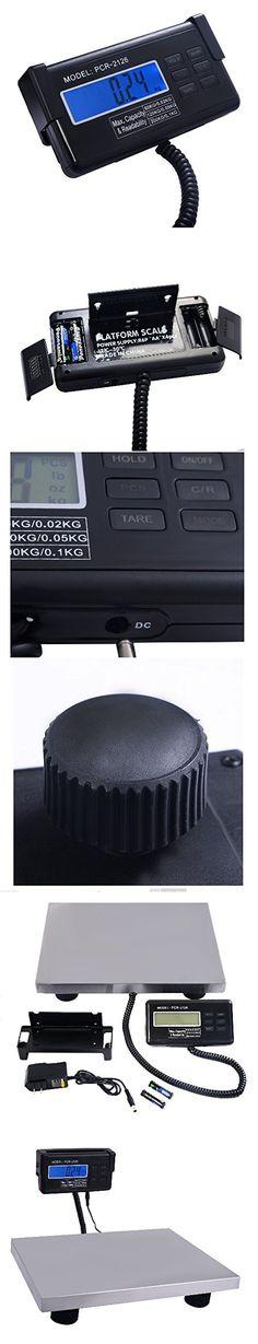 440 lbs x 0.1 Lb Digital Floor Bench Platform Postal Scale KG/LB/OZ 200Kg Ship from USA