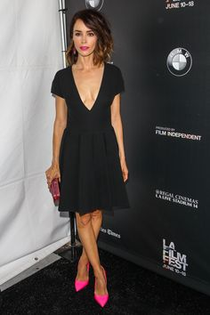 Abigail Spencer attends a screening of 'A Beautiful Now' at the 2015 Los Angeles Film Festival at Regal Cinemas L.A. Live on June 12, 2015 in Los Angeles, California.