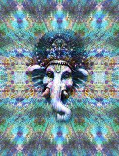 trippy hippie drugs lsd high shrooms acid psychedelic buddhism chakra om ganesh spiritual enlightenment