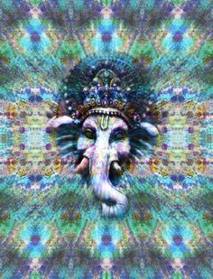 trippy hippie drugs lsd high shrooms acid psychedelic buddhism chakra om ganesh spiritual enlightenment