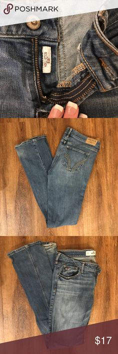 Hollister Boot Cut Jeans These cute jeans are perfect for a casual outfit or for something more fun and flirty. They are a size 9 long Hollister Jeans Boot Cut