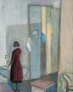 At the art school - Tove Jansson (1914-2001)