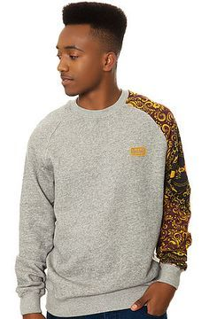 The Sultan Sweatshirt in Speckle Grey by Crooks and Castles use rep code: OLIVE for 20% off!