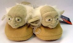 Star Wars Cozy Yoda Slip-On Slippers Adult (Men's) Small Mens Slippers, Buy Comics, Star Wars Gifts, Star Wars Characters, Clone Wars, For Stars, Toys For Girls, Plush