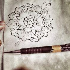 My work (Penç çalışmamdan bir kare) ✏️📏📐
