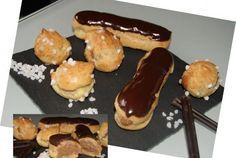Eclairs au chocolat et ribambelle de chouquettes   Cooking Chef de KENWOOD - Espace recettes