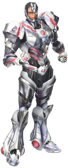 Square Enix Play Arts Kai Cyborg Action Figure * Check out the image by visiting the link. (This is an affiliate link) Comic Book Heroes, Comic Books, Anime Stars, Photo Link, Geek Culture, Dc Universe, Justice League, Kai, Dc Comics