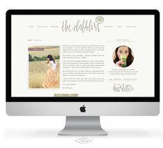 The Dabblist - Saffron Avenue, Cool Website Layout/Design