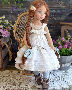 Немного нижнего белья для красоты Остальное можно увидеть в блоге на Ярмарке Мастеров. #кукла #авторскаякукла #текстильнаякукла Нашла дом