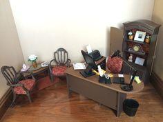 BARBIE FURNITURE KEN GI JOE OOAK OFFICE 1:6 SCALE ACCESSORIES LIVING ROOM HOUSE