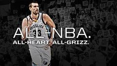 Marc Gasol earns All-NBA First Team honors