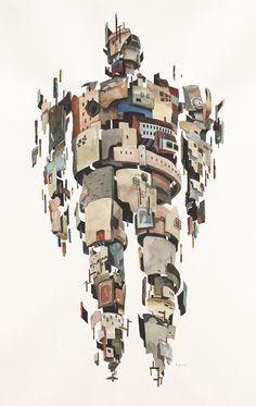 VISUAL CLOUD. Rob Sato - Ilustración