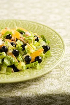 Paula Deen - Blueberry and Grilled Chicken Salad