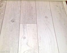 WHITE VINYL CUSHION FLOOR WHITE OAK WOOD PLANK LINO 2, 3, 4m wide GOOD QUALITY   eBay