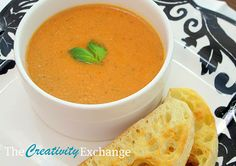 La Madelaine's Tomato-Basil Soup Recipe {Healthy Version}…