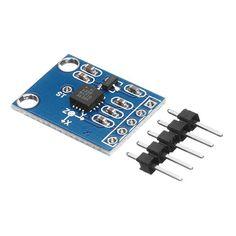 [US$4.15] GY-61 ADXL335 3-5V Angle Sensor Module Tilt Angle Module X Y Z Triaxial Accelerometer Analog Output #gy61 #adxl335 #angle #sensor #module #tilt #triaxial #accelerometer #analog #output