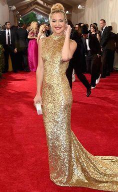 Kate Hudson - MET Costume Institute Gala 2015 - Dress by Michael Kors