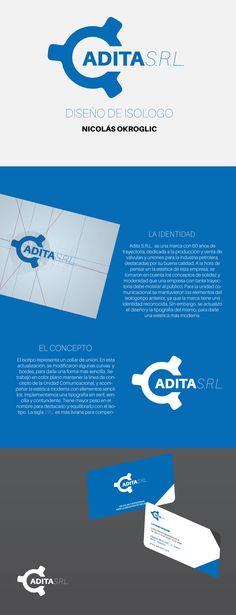 Rediseño de Isologo para ADITA S.R.L.