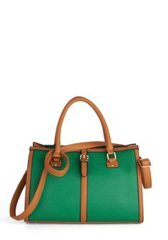 Conifers Things First Bag, #ModCloth