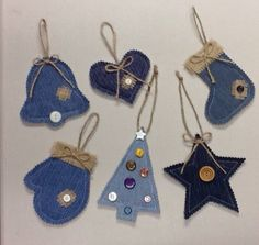 Ideas about Denim Crafts on Pinterest | Recycled denim, Jean crafts ...