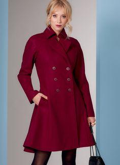 V1837 | Misses' Coat | Vogue Patterns