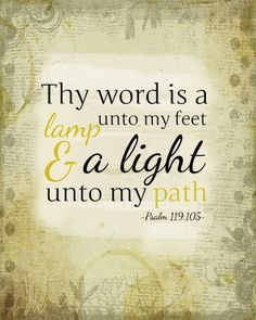 Psalm 119:105 (Free Printable)