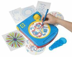 Alex Magic Picture Maker - Spiral Pattern Drawing Machine by Alex. $11.65. Includes three fun activities in one set!. Make beautifully detailed art without breaking a sweat!. Great as an individual or group art project. A great travel or rainy day activity!. Includes a marker, 5 sheets of paper, stencils, dial-a-pattern template, spiral art stencils and easy instructions. From the Manufacturer                Three activities in one! Trace with the magic stencils t...