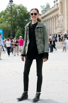 20 Model Street Style Snaps from Haute Couture Fashion Week A/W 2013 | The Front Row View