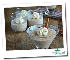 Cinnamon Vanilla Rice Pudding -- stevia-sweetened and healthy! Try this with rice milk for Phase 1, or almond milk for Maintenance.