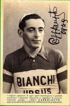 Fausto Coppi 1949 by spoke sniffer, via Flickr
