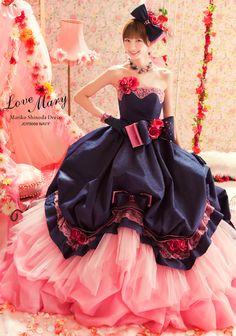 タレントプロデュースドレス 篠田麻里子【Love Mary -ラブ マリ-】 成人式の振袖レンタル・ウェディングドレス・貸衣装は北九州のアフロディーテ