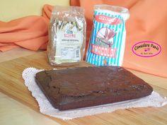 Comedere panis: Brownie de chocolate y naranja