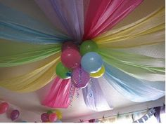 MuyAmeno.com: Decoracion de Techos para Fiestas Infantiles, parte 1