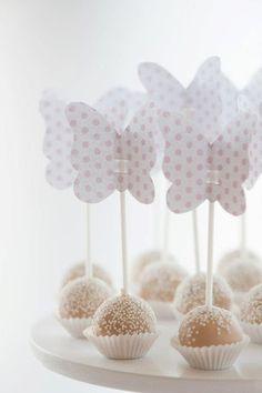 decoração de chá de bebê borboleta - Pesquisa Google