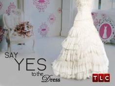 I just watched too many episodes of Say Yes to the Dress. Thankfully, Ryan is at work so hopefully by the time he gets home this stupid girl feeling will wear off. Haha.