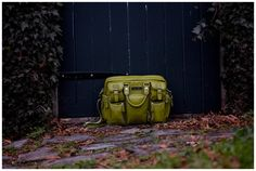 Fern Gully Green Evermore- Camera bag