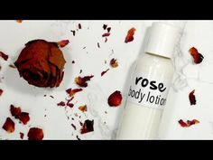 How to Make Light Weight Rose Body Lotion How To Make Rose, How To Make Light, How To Make Labels, Vegetable Glycerin, Beauty Recipe, Rose Water, Body Scrub, Body Lotion, Diy Beauty