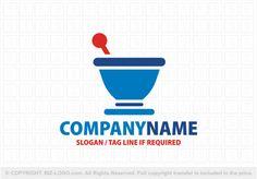 Pre-designed logo 4884: Medicine Bowl Logo