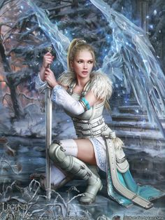 Angel Diamond Painting Kits with every kind of Angel imaginable. Guardian angels as well as child angels. All beautiful and ready to be dazzled in these d Dark Fantasy Art, Fantasy Girl, Fantasy Artwork, Fantasy Female Warrior, Chica Fantasy, Angel Warrior, Fantasy Art Women, Beautiful Fantasy Art, Fantasy Kunst