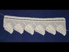 (3) Towel Lace Crochet Edge Patterns Models Designs New Trends