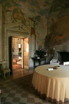Villa Foscari, Mira, near Venice, Italy  walls