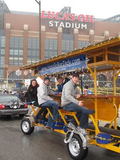 Grab some friends and join the fun of a pedal bar in Indianapolis, IN.