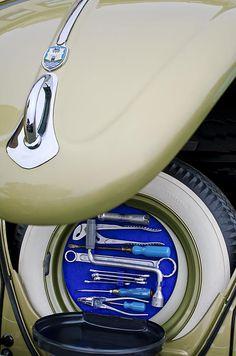1956 Volkswagen VW Bug Tool Kit Photograph